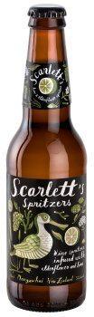 Scarletts Spritzers Lime & Elderflower (500ml)
