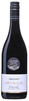 Coopers Creek Gibsons Run Pinot Noir