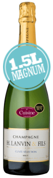 H.Lanvin & Fils Champagne Brut (1.5L Magnum)