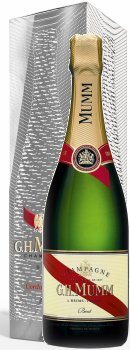 Mumm Cordon Rouge Champagne Brut Moire Effect (Limited Edition)
