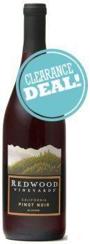 Redwood Vineyards Pinot Noir