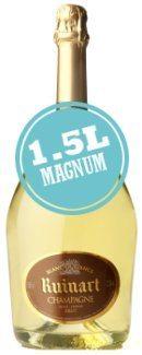 Ruinart Blanc de Blancs Champagne Brut (1.5 Litre Magnum)