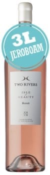 Two Rivers Isle of Beauty Rose (3 Litre Jeroboam)
