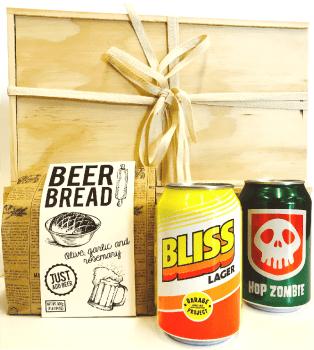 The Good Wine Co. Craft Beer & Beer Bread Gift Hamper