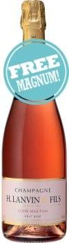 H.Lanvin & Fils Rose Champagne Brut