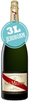 Mumm Cordon Rouge Champagne Brut Jeroboam (3 Litre)