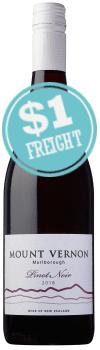 Mount Vernon Pinot Noir
