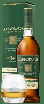 Glenmorangie Quinta Ruban 14yo + Whisky Tumbler